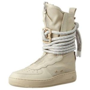 NIKE SF Air Force 1 High Rattan Womens Size 8.5